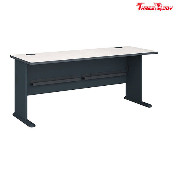 Small Modern Office Furniture Simple Computer Desk 77.4 X 29.7 X 4 Inches